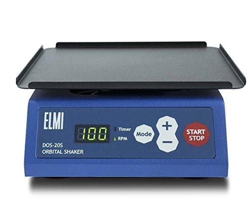 ELMI DOS-20S Digital Orbital Shaker, 168mm x 168mm Working Platform, 10-250 RPM (Shaker Digital Orbital)