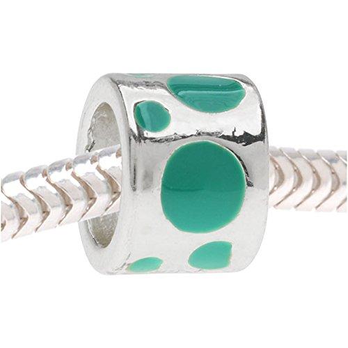 Enamel Tube Beads - 7