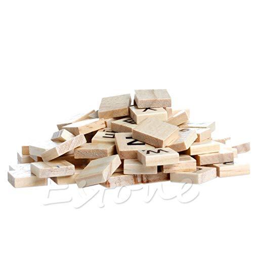 Stamps - 100pcs En Scrabble Tiles Black Letters Numbers S27 - Sudoku Alphabet Storage Sets Game Mats Ceramic Montessori Classroom Educational Black English Hexagon Organizer Magnets Godmother H ()