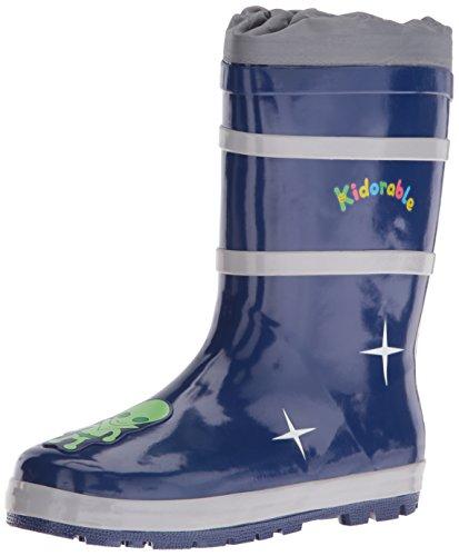 Kidorable Space Hero Rain Boot , Blue, 11