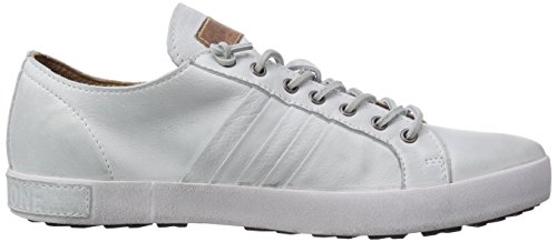 Men's White Grain Blackstone Leather JM11 Full Leather Sneaker zpWp8qn1