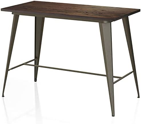 VIPEK 35.43 Inches Metal Counter Height Dining Table