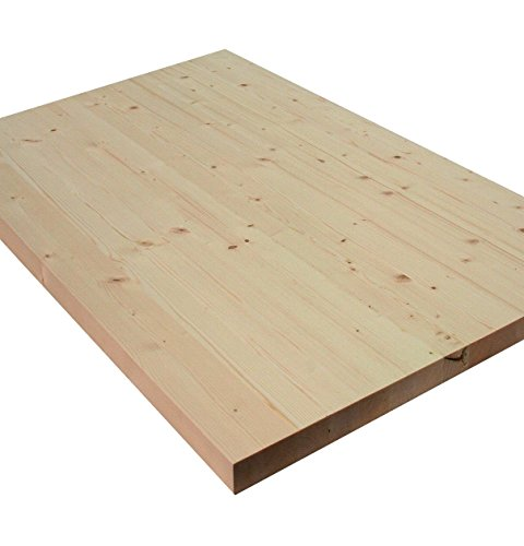 Allwood 1.5'' x 24'' x 36'' Whitewood Table / Island / Workbench Top by Allwood (Image #2)