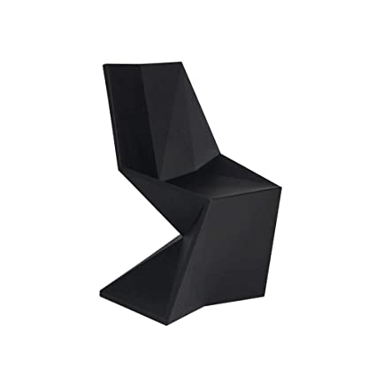 Vondom Vertex Silla Chair for Outdoor Black