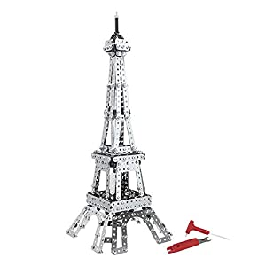 Dilwe Giocattolo 3d Puzzle Torre Eiffel E Lempire State Building Puzzle In Metallo 3dtorre Eiffel