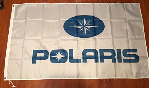 POLARIS FLAG BANNER WHITE LOGO 3X5FT ATV OFF ROAD 4 for sale  Delivered anywhere in USA