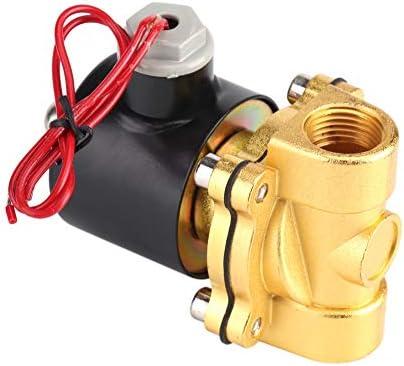 """Nikou Magnetventil 220 V Elektroventil DN15 1/2""""Elektrisches Wasserventil für Wasseröl Luft Gas"""