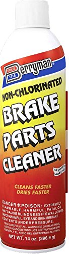 Berryman Products 2420 12 Pack Non-Chlorinated Brake Parts Cleaner 14 oz