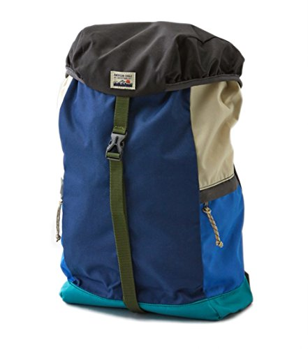 AEO Travel School Hiking Multi-purpose Backpack with Side Pockets (Blue)