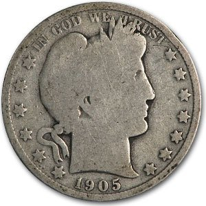 1905 O Barber Half Dollar AG Half Dollar About Good