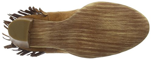 Cognac Marco Tozzi Cerrada Con Punta 22443 Zapatos Para Tacón De Mujer TvqTA