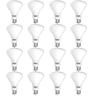 Sunco Lighting 16 Pack BR30 LED Bulb 11W=65W, 4000K Cool White, 850 LM, E26 Base, Dimmable, Indoor Flood Light for Cans - UL & Energy Star