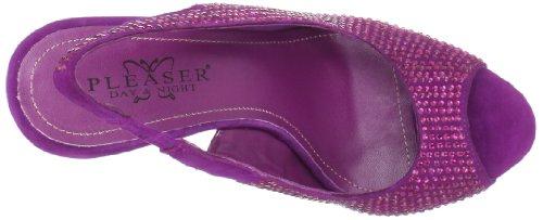 Pleaser Day & Night - Sandalias de vestir para mujer púrpura - morado