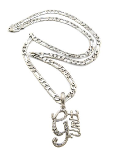 new-iced-out-g-unit-pendant-5mm-24-figaro-chain-hip-hop-necklace-xop60r