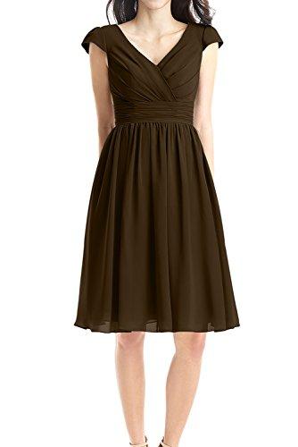 Ivydressing - Vestido - trapecio - para mujer marrón