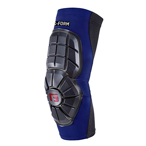 G-Form Pro Extended Elbow Guard, Royal Blue/Black, Adult Small ()
