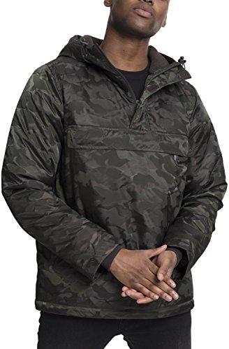 Pull Hombre Grün Classics Over Padded Camo Urban Jacket para Chaqueta Darkolive 551 wtqZ8Wp6