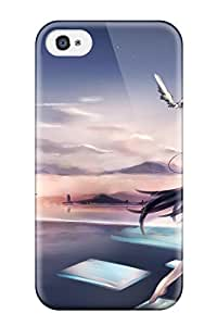 Hot animal barefoot browngoma Anime Pop Culture Hard Plastic iPhone 4/4s cases 1334755K419722675