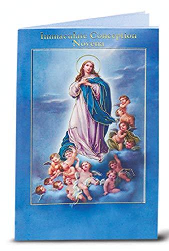 10 Piece Immaculate Conception Novena Book, 3.75