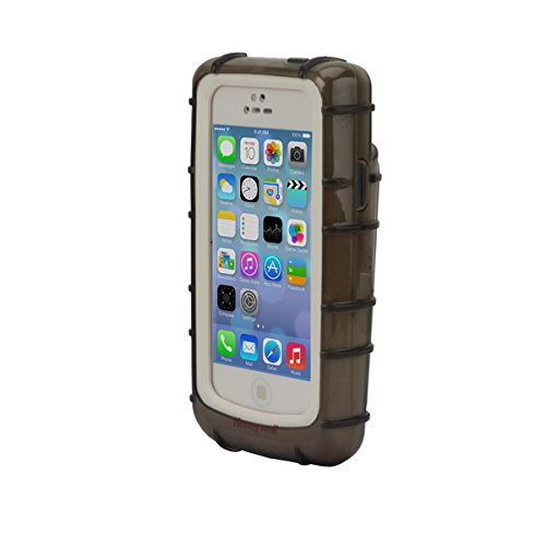OPEN BACK TPU GREY CASE FOR