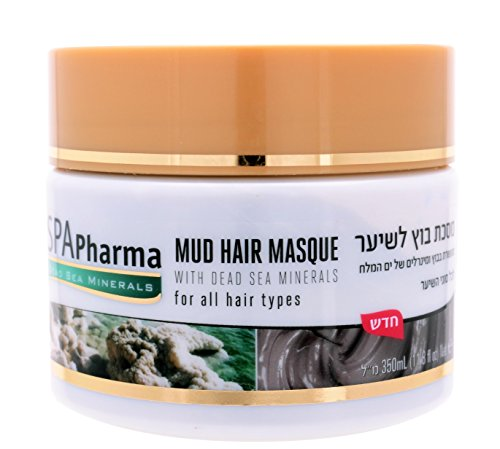 Spa Pharma Nourishing Hair Mask with Dead Sea Mud and Minerals for all hair types 11.8 fl ()