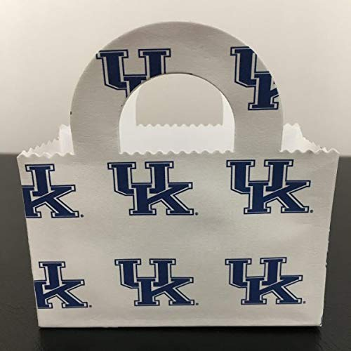 Kentucky Wildcats Party Bag, Favor Bag, Gift Card Holder, Money - Wildcats Wreath Kentucky