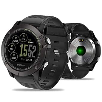 Amazon.com: Tactical SmartWatch V3 HR (Red): Cell Phones ...