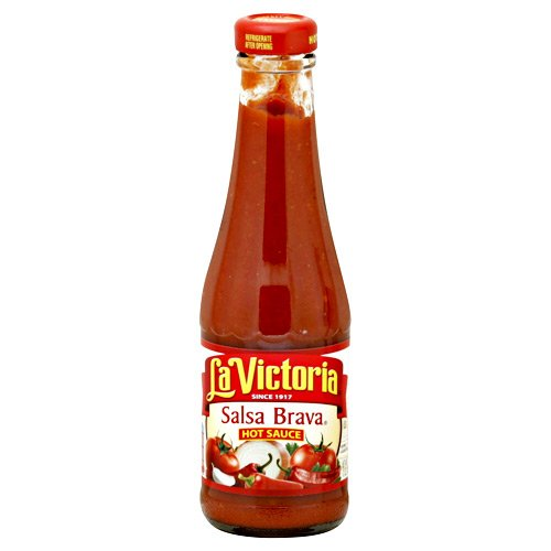 La Victoria Salsa, Brava, Hot, 8-Ounce (Pack of 6) by La Victoria