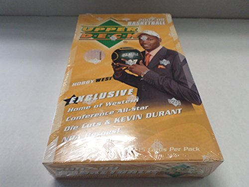 (2007-08 Upper Deck West Hobby Sealed Basketball Box)