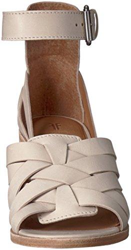 Frye Kvinna Bianca Hurache 2 Piece Klack Sandal Vit