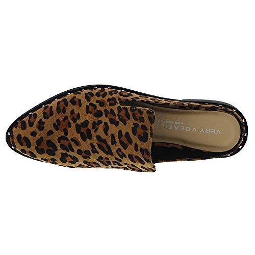 Tan On Volatile Very Slip Women's Austin leopard XwP8SSUqAx