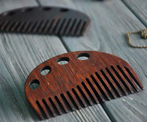 Personalised Wooden Hair Combs for women decorative Custom engraving Custom text Pocket comb Gift for Mom Artist Custom 5rd Anniversary Gift for Girlfriend Wife by Enjoy The Wood