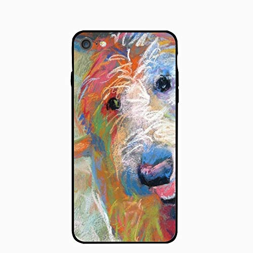 iPhone 6/6s Case,Personalized Blaze The Goldendoodle Dog Floral Print PC Cellphone Case