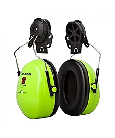 3M PELTOR Optime III Orejeras para casco Negras 34 dB (1 orejera ...