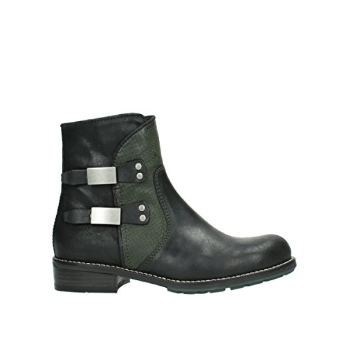 Comfort nbsp;émeraude green Wolky Oiled Bottes 04439 50730 Forest Leather vtxt1Fwdq