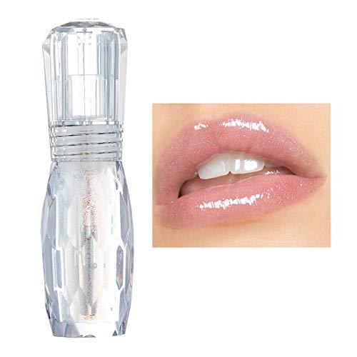Lip Plumper Gel - GL-Turelifes Lip Plumper Gloss Jelly Color Lipstick, Lip Plumping Balm Plumper Lip Gloss Treatment Clear Lip Plump Gloss- Enhancer Hydrated Lips, Moisturize, Eliminate Dryness Wrinkles (#4)