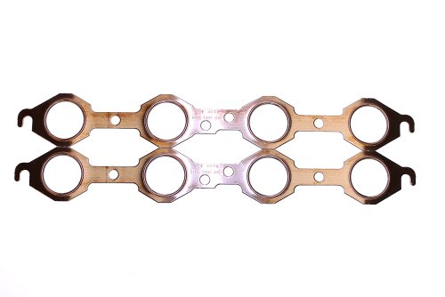 SCE Gaskets 4019 Pro Copper Header Gaskets for Chevrolet LS1-LS6 V8 with stock manifolds or 1.75
