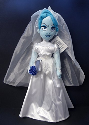 - Disney Parks Exclusive Haunted Mansion Attic Bride In Wedding Dress with Axe Plush Doll