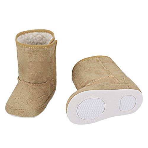 Arshiner Baby Girls Boys Infant Toddler Winter Fur Shoes Sno