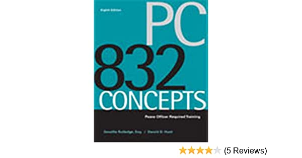 pc 832 concepts peace officer required training devallis rutledge rh amazon com PC 832 Course Los Angeles PC 832 Training in California