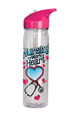 Spoontiques Nurse Flip Top Bottle, , Clear