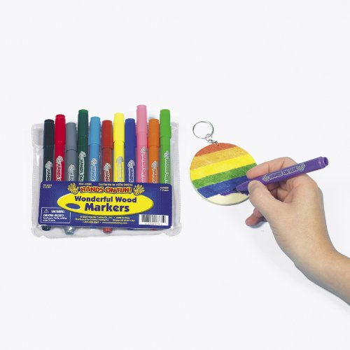 Fun Express Wonderful Wood Painting Markers