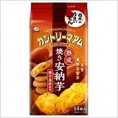 ビスケット・クッキーの新商品】不二家 カントリーマアム 熟成焼き安納芋 14枚 5コ入り