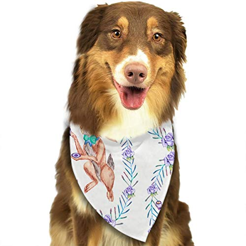 OURFASHION Squirrel Bandana Triangle Bibs Scarfs Accessories for Pet Cats and Puppies -