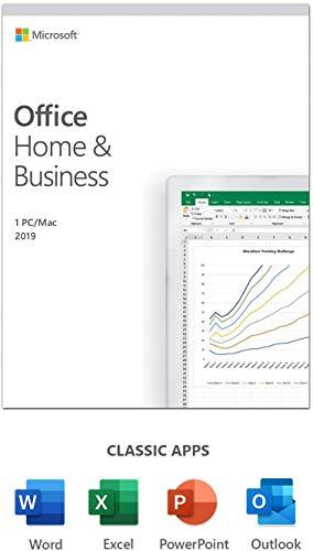 MS Office 2019 Home & Business | 1 gebruiker | 1 ST | Windows 10 of Mac | eenmalige aankoop | meertalig | doos