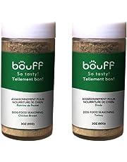 2 Pack Dog Food Seasoning - Set of 2 Toppers Puppy Sprinkles 100% Natural Protein Food Enhancer