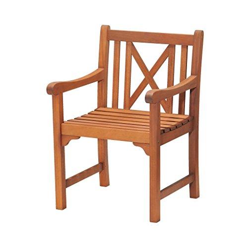 JYSK Garden Chair HAMAR FSC hardwood
