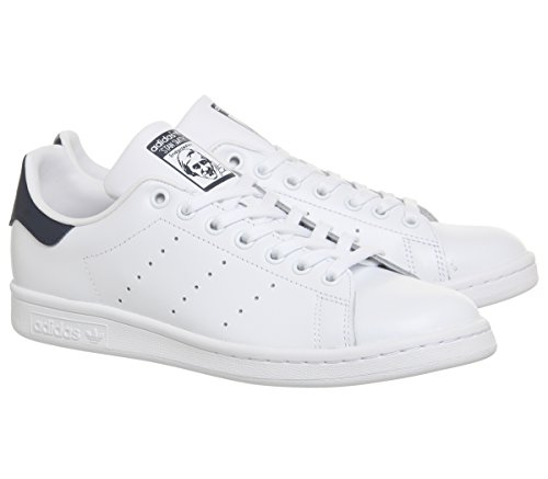 adidas - Stan Smith, Sneaker Unisex - Adulto Bianco Blu