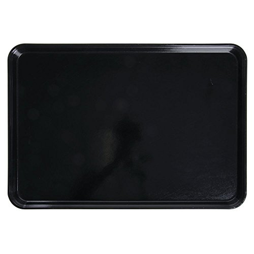 Cambro Camtray Rectangular Black Fiberglass Tray - 26