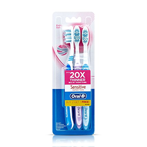 Oral B Sensitive Super Thin (Buy 2 Get 1 Free)